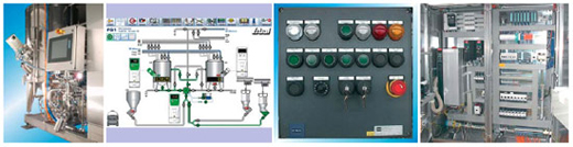 Ystral controls and switchboards